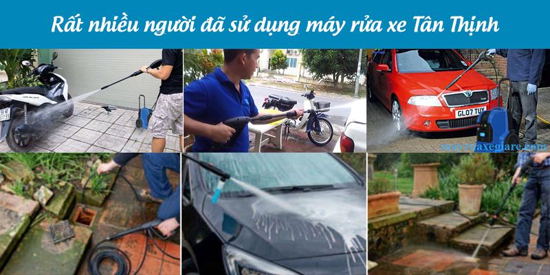 máy rửa xe tân thịnh