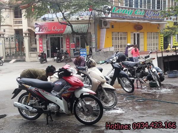 máy rửa xe máy giá rẻ