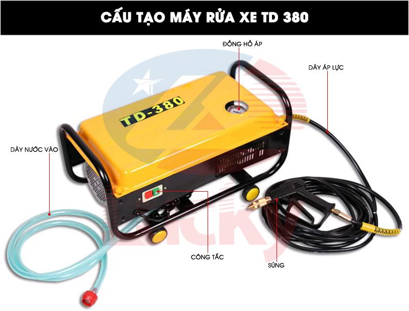 CAU TAO MAY RUA XE TD 380