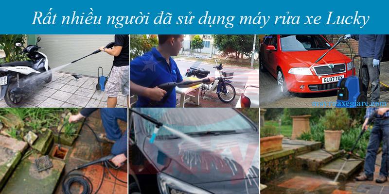 máy rửa xe Lucky