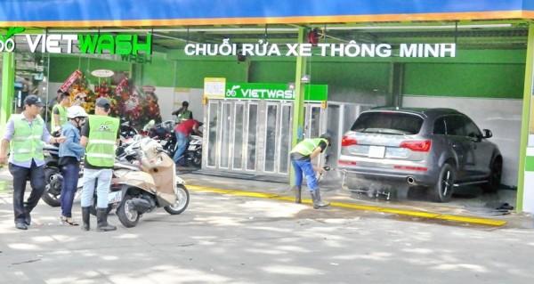 Kinh doanh rửa xe máy chuyên nghiệp