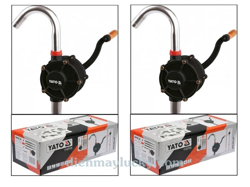 máy bơm dầu quay tay bằng inox 2