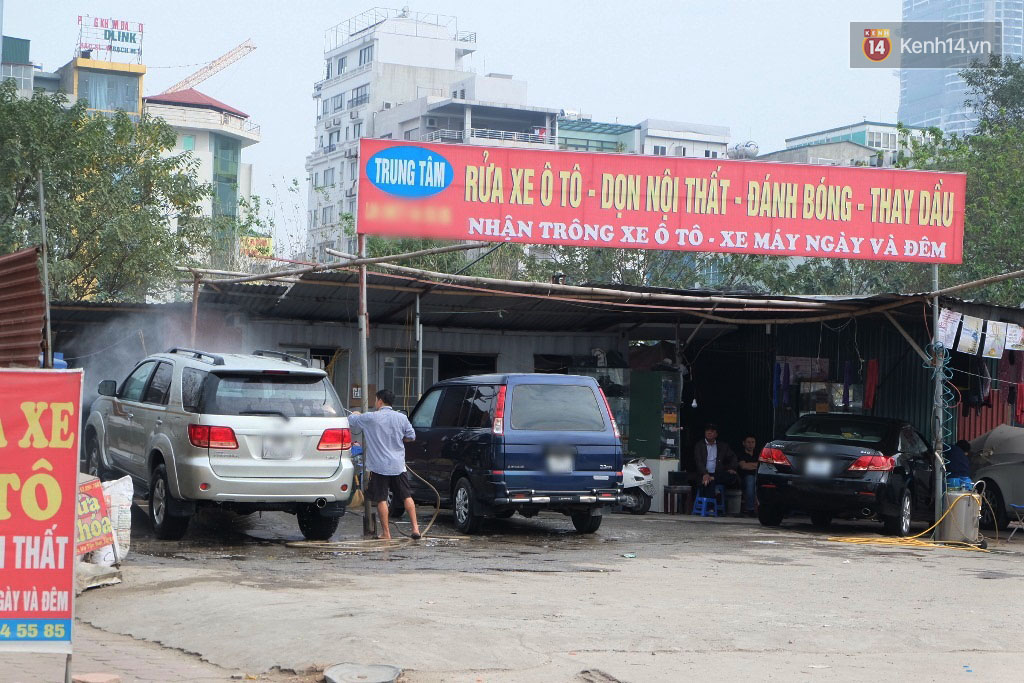 mở cửa hàng rửa xe ô tô
