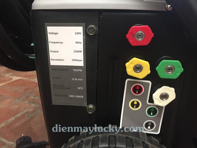 Máy rửa xe cao áp 1500 PSI