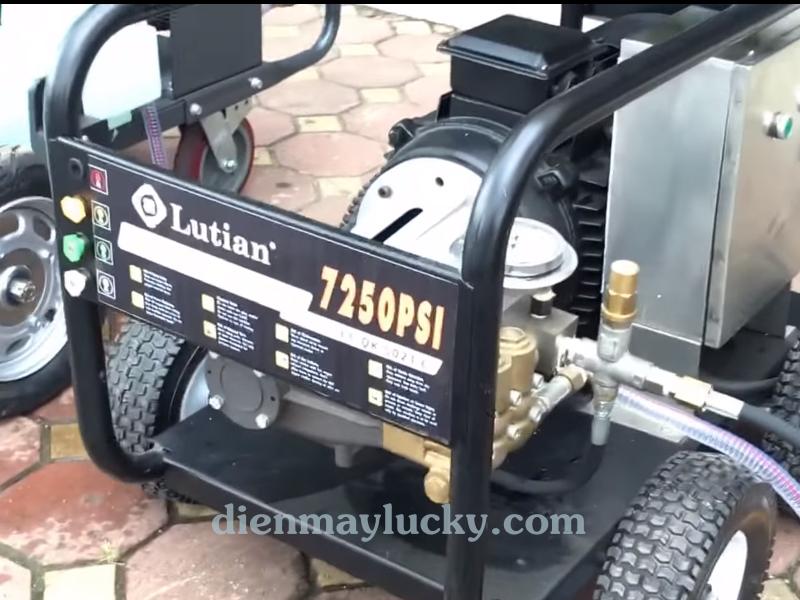 Máy rửa xe siêu cao áp Lutian 22KW