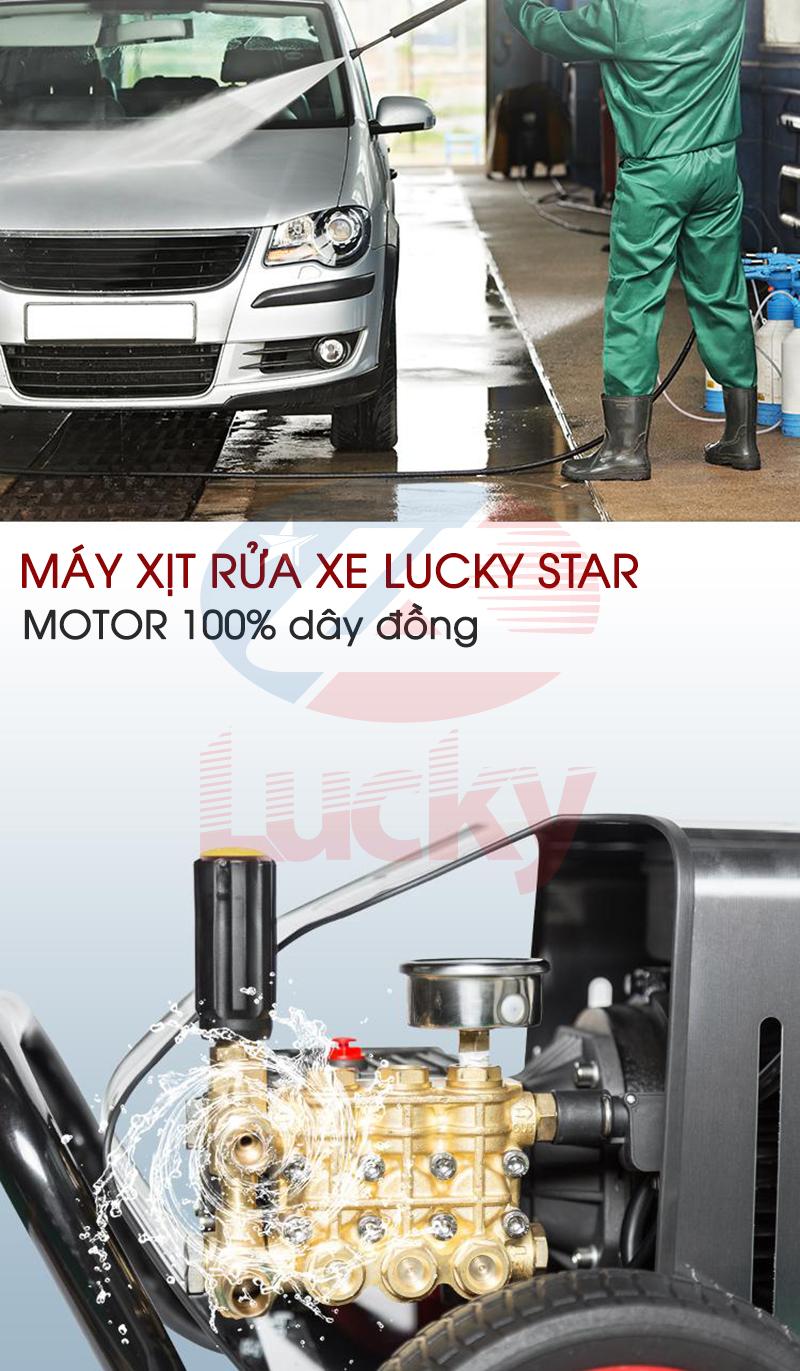 máy rửa xe ô tô cao áp