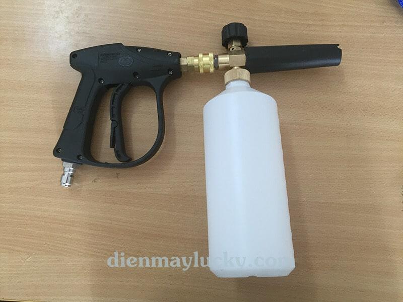 súng phun bọt tuyết cao áp