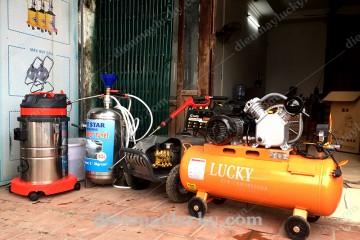 Báo giá bộ rửa xe ô tô cho garage chăm sóc xe