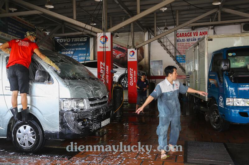 Bộ thiết bị rửa xe ô tô