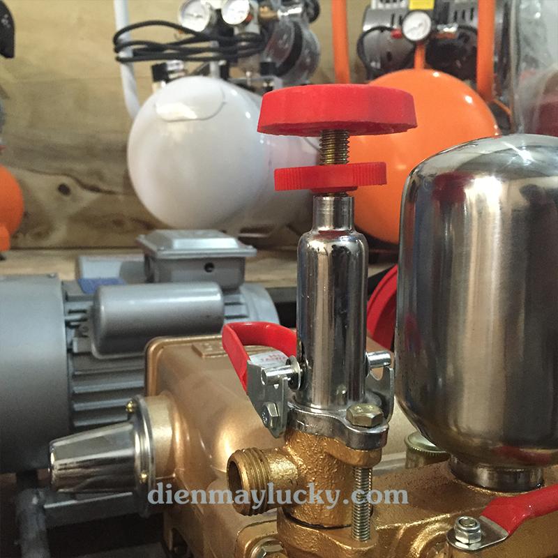 Cách chỉnh áp lực máy rửa xe dây đai