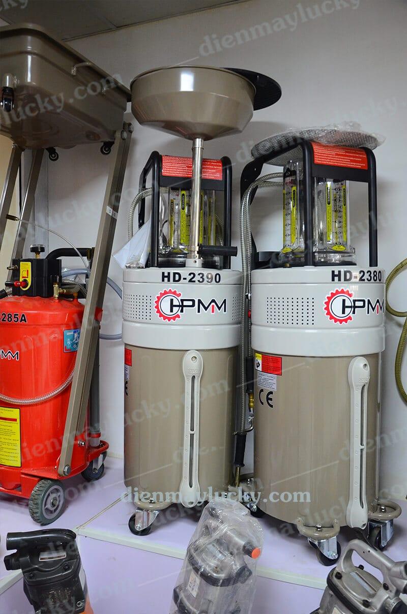 máy hút dầu thải dùng điện