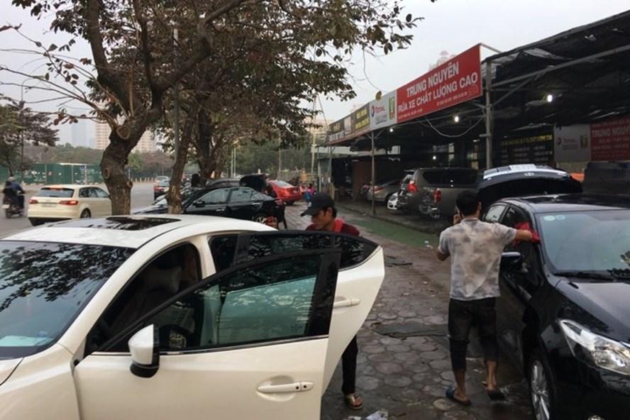 mở tiệm rửa xe ô tô cần bao nhiêu vốn