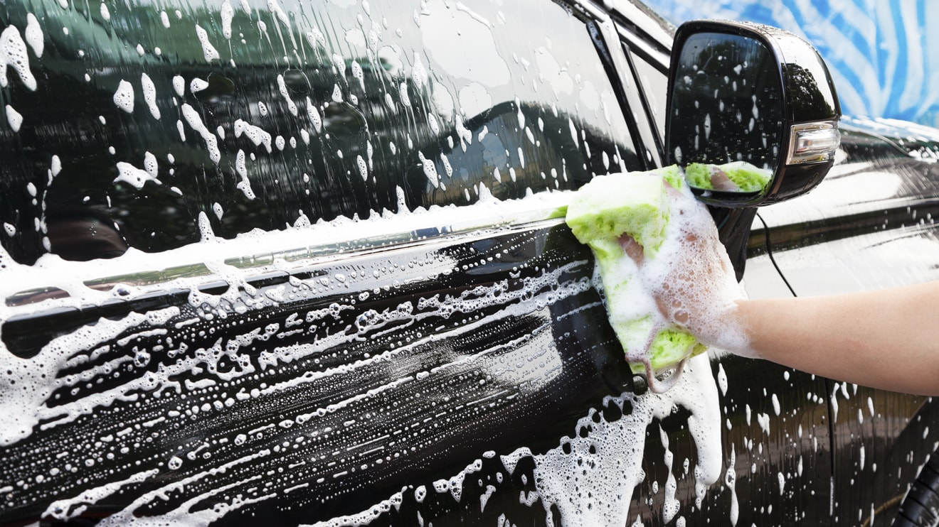 quy trình rửa xe ô tô chuyên nghiệp