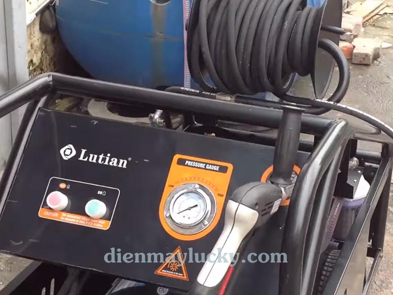 máy rửa xe siêu cao áp 11 KW Lutian.