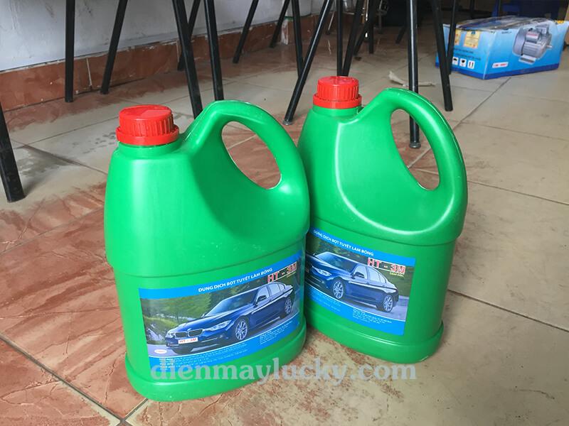 hóa chất tẩy rửa xe ô tô