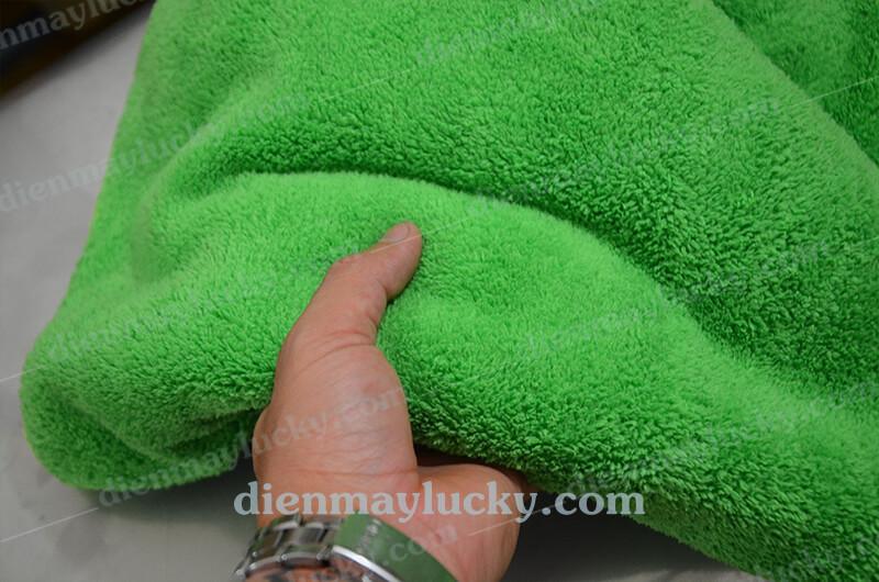 khăn lau xe lông cừu