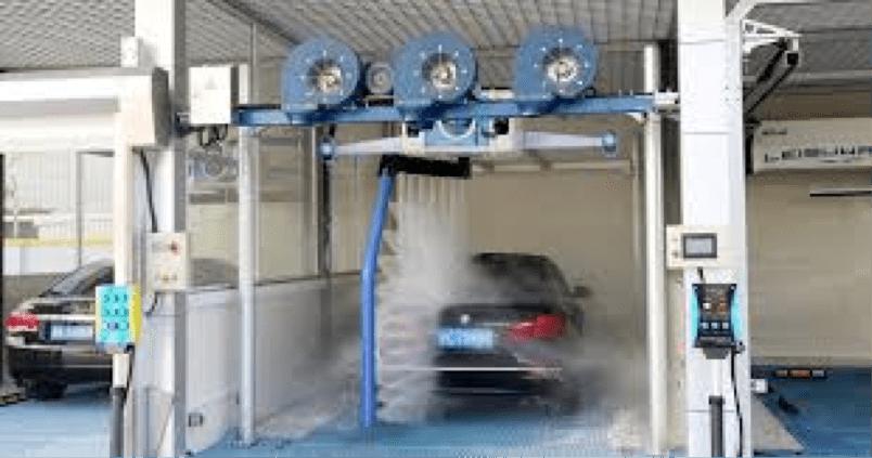 mô hình rửa xe ô tô