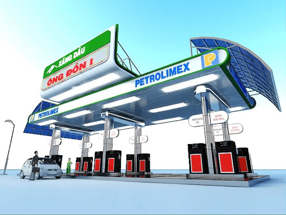 mở cây xăng cần bao nhiêu vốn