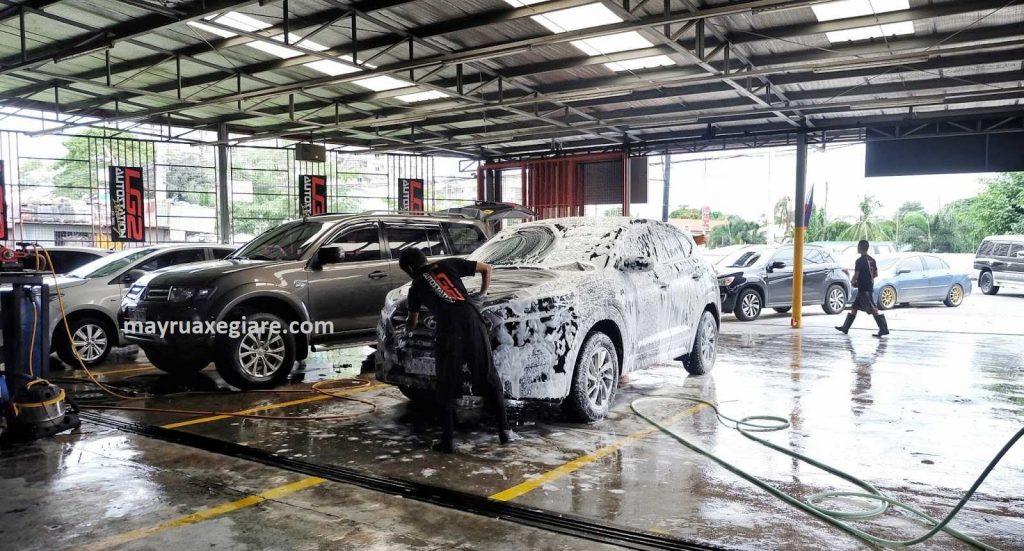 trạm rửa xe công nghệ cao
